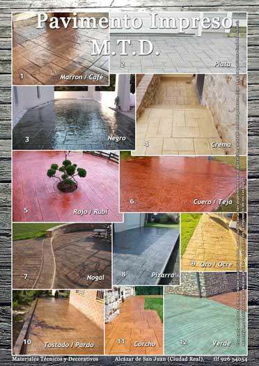 Ejemplos Pavimento Impreso